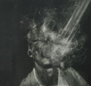 lightened , oil on canvas , 30X30 cm