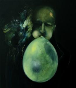 Inspiration ,oil on canvas 50 x 60 cm