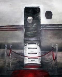 Light jet , oil on canvas ,230 X 210 cm
