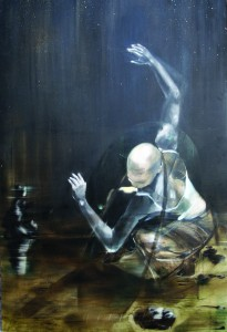 Narkis ,oil on canvas 135X200 cm