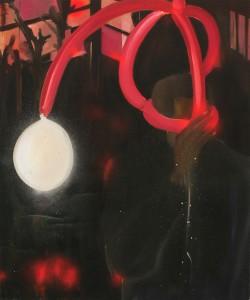 PARIS 2008, oil on canvas 45X60cm