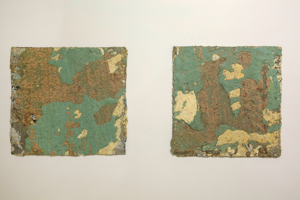 the past , old walls on canvas , veriable dimension  (4)