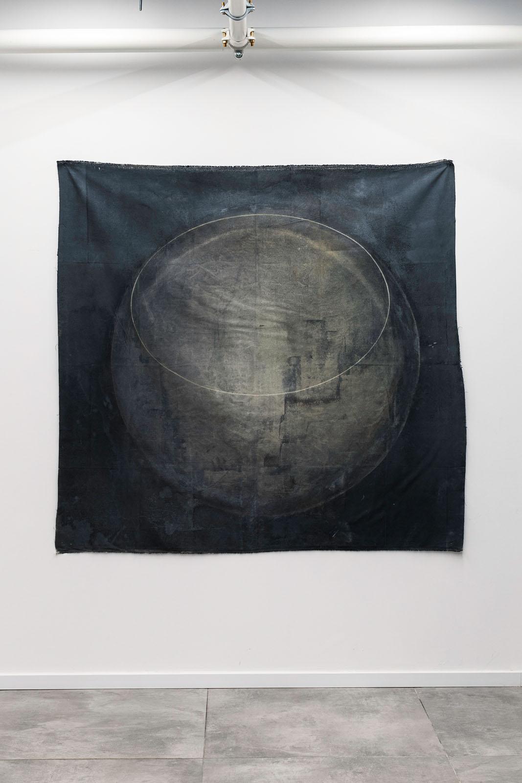 Untiteled, mix media on canvas, 120x120cm