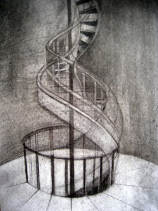 SKETCH TO SPIRALA ON A4 PAPER
