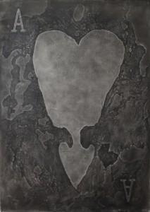 Ace , oil on canvas, 150 x 210 cm