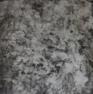A block- oil on mesonite, 60x60 cm