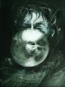 Boo , oil on canvas 40X55cm