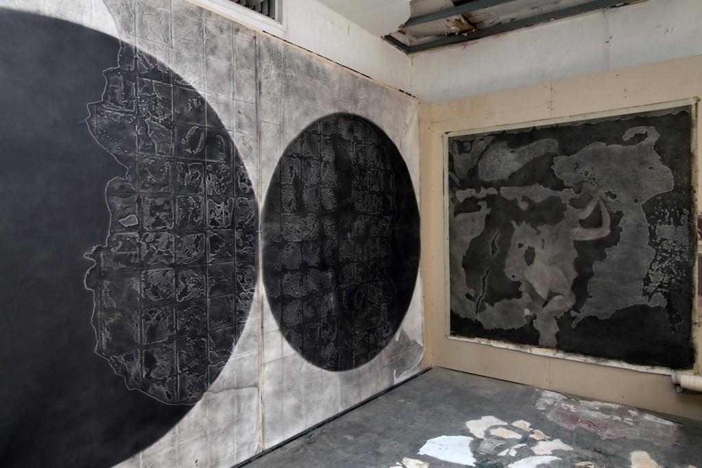 lonley planet , graphite on canvas_resize