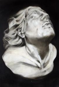 Idol , oil on canvas , 60X40 cm