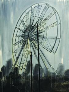 Paris 2009, oil on canvas 160X200 cm