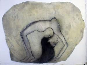 Manuela, 2018, mixed media on canvas,150x200cm
