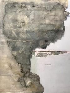 Elefant extract_mix media on canvas_200x150 cm