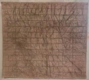 Transperancy 150x130 cm mix media on canvas